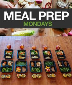 Each weekend Social Media Specialist Amanda Meixner preps her meals and shares her photos. It reminds us that meal planning doesn't have to be hard. So we're going to start posting them to provide a little motivation. #cooking #mealprep #mealprepmondays