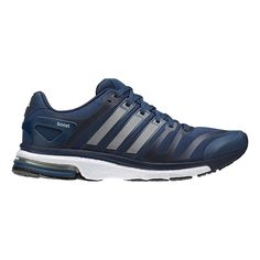 Boost your performance and run in maximum comfort mile after mile in the Mens adidas adistar boost