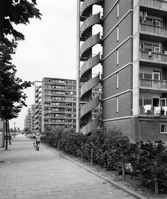 architectureofdoom:    Notweg flats, Osdorp, Amsterdam, Frans van Gool, 1957-60 I Amsterdam, New West, Borneo, 17th Century, Family History, Holland, Frans, City, Photography