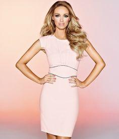 Classy & Stunning Pale Pink Dress