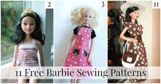 Risultato immagine per Barbie Clothes Patterns Free Printable