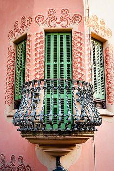 Gaudi's house - Park Güell, Barcelona, Spain.