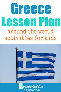 Building the perfect Greece lesson plan for your students? Are you doing an around-the-world unit in your social studies classroom? Try these free and fun Greece activities, crafts, books, and free printables for teachers and educators! Swim Lessons, Lessons For Kids, Educational Activities, Activities For Kids, Geography For Kids, Magic Treehouse, Social Studies Classroom, Parenting Humor, Toddler Preschool