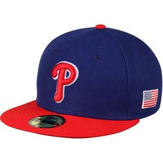 online retailer d165e ee58a Men s New Era Royal Red Philadelphia Phillies Authentic Collection On-Field  Alt 59FIFTY Fitted
