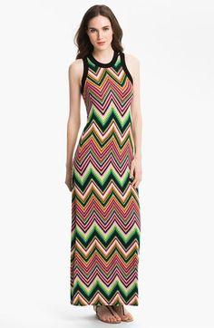 Karen Kane Zigzag Maxi Dress | Nordstrom