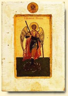 Archangel Michael - exhibited at the Temple Gallery, specialists in Russian icons