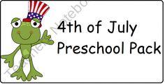 july fourth preschool activities