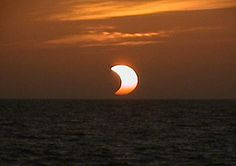 Watch the Solar Eclipse over the beach horizon at the East Coast Star Party this October