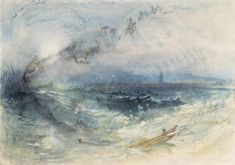Joseph Mallord William Turner 'Yarmouth Roads', c.1840 © Board of Trustees of the National Museums and Galleries on Merseyside