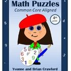 Common Core Math Puzzles for the fourth grade.Are your students bored of doing the same old math problems