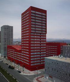 242 Social Housing Units in Salburúa