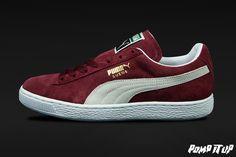 Puma Suede Classic cabarnet-white Sizes: 36 to 46 EUR Price: CHF Unisex     