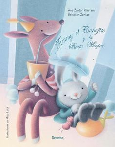 Timmy el conejito y la receta mágica // Uranito Smurfs, Dinosaur Stuffed Animal, Teddy Bear, Toys, Animals, Fictional Characters, Art, Frases, Illustrations Posters