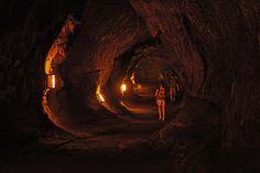 Thurston Lava Tube, Hawaii Volcanoes National Park, Hawaii