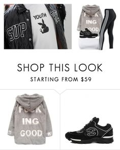 """For the Youth ."" by rich-princesa ❤ liked on Polyvore featuring Chicnova Fashion and adidas"