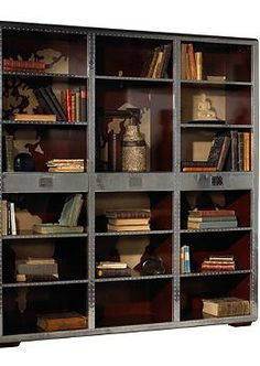 Bring industrial style into your home while proudly displaying your favorite books and decor accessories in the Ferault Bookcase.