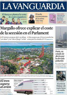 """""""Margallo ofrece explicar el coste de la secesión"""""""
