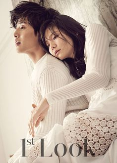 Lee Som and Kang Ha Neul - 1st Look Magazine