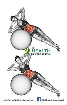 © Sasham   Dreamstime.com - Fitball exercising. Bending the body on fitball. Female