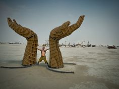 Hands, Black Rock City, Burning Man 2013, Cargo Cult