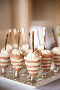 darling desserts. I need to remember this simple presentation