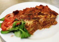 Denné menu Vranov | Lasagne zo sójového mäsa so syrovou krustou - reštaurácia Hotel Patriot*** #hotel #restaurant #food