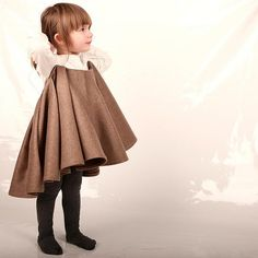 Woolen Cape Dress | Amazing Children's Clothes You Wish Came In AdultSizes
