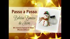 DIY - Baleiro Boneco de Neve #NatalcomBiscuit #4