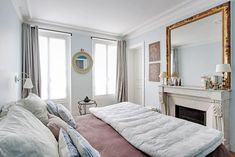 Light & bright spacious 2 BD in heart of Marais - Apartments for Rent in Paris, France Paris Apartment Rentals, Paris Apartments, Rental Apartments, Windows, Bed, Room, Furniture, Home Decor, Bedroom