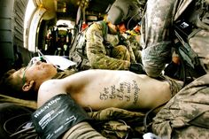 "Photo: ""For those I love I will sacrifice"". A Soldier's Tattoo Becomes Truth"