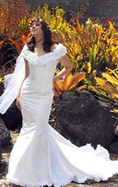 1000 images about island hula dancers on pinterest hula for Hawaiian wedding dresses with sleeves