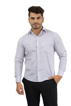 Camisa Social Masculina Listrada