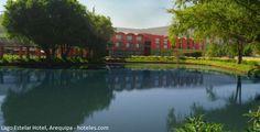 Disfrute de la naturaleza arequipeña desde el Lago Estelar Hotel.  En medio de extensas áreas verdes, un lago hermoso y frente a un clima donde se respira aire puro, el Lago Estelar Hotel es el escenario perfecto para unas merecidas vacaciones en el departamento de Arequipa, un punto de partida para emprender un tour por los alrededores de la región.