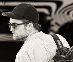 Rob arriving at the Stand Up 2 Cancer Event last September, yet another reason I love this man…