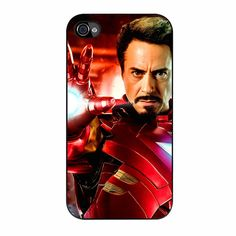 Robert Downey Jr Iron Man Iphone 4/4s Case