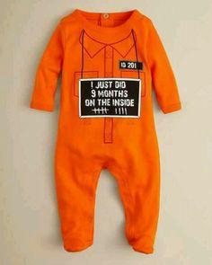 Adorable Halloween costume for a baby :)