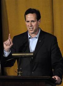 26 #prezpix #prezpixrs Rick Santorum on the Atlanta Journal Constitution 3/12/12