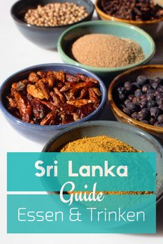 Essen in Sri Lanka - Curry, Kottu, Roti - das musst du Essen! Food Trucks, Sri Lanka Essen, Sri Lanka Photography, Curry, Sri Lankan Recipes, Vegetarian Recipes, Healthy Recipes, Asia Travel, Places To Eat