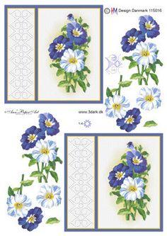 Broderies et 3D - Fleurs - Nerina De - Picasa Albums Web