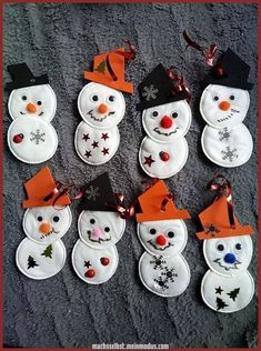 diy-winter-diy-winter-machsselbst-meinmodus-com/ - The world's most private search engine Christmas Decoration For Kids, Winter Christmas, Kids Christmas, Christmas Gifts, Christmas Ornaments, Magical Christmas, Snowman Ornaments, Green Christmas, Kids Crafts