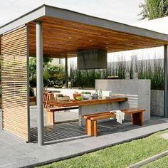 Afbeeldingsresultaat voor garage exterior pergola minimalista