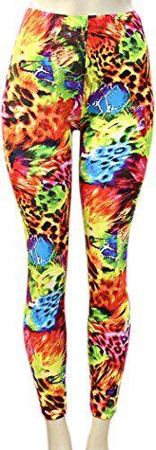 Save $7.01 on Deja Beauty of USA Women's Stylish HOT FAB Print Leggings; only $22.98