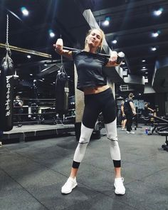 """123.4k Likes, 353 Comments - Karlie Kloss (@karliekloss) on Instagram: """"#fitnessfriday at the one & only @dogpound """""""