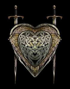 The Warrior Heart   Art Print by Brian Giberson by indigolights, $20.00