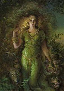 Celtic Forest Goddesses