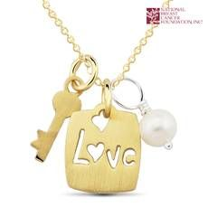National Breast Cancer Foundation Inspirational Jewelry - Sterling Silver Gold - Love Pendant Https%3a%2f%2fs3.amazonaws.com%2ftanga-images%2fsycwuf586qr2