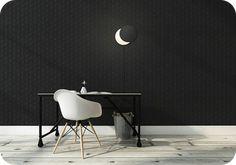 あなたのスペースを癒す優しい月の灯り【BELLA LUNA】 – AS CREW ONLINE SHOP Wall Lights, Chair, Moon, Furniture, Home Decor, The Moon, Appliques, Decoration Home, Room Decor
