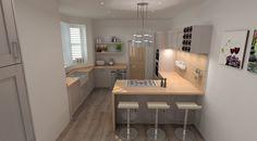 Modern Kitchen Design. Schuller German Kitchen In Casa. #germankitchens  #kitchendesign