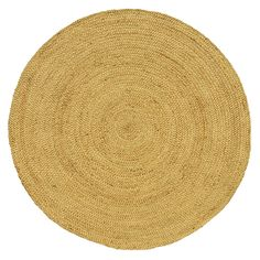Hand-woven Braided Natural Jute Rug (6' Round) | Overstock.com Shopping - The Best Deals on Round/Oval/Square