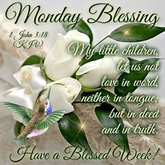 Good morning sister and all, have a nice Monday and a great week, God bless♥★♥.
